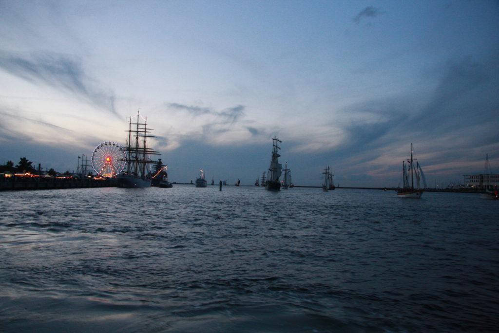 Hanse Sail 2021 Feuerwerk